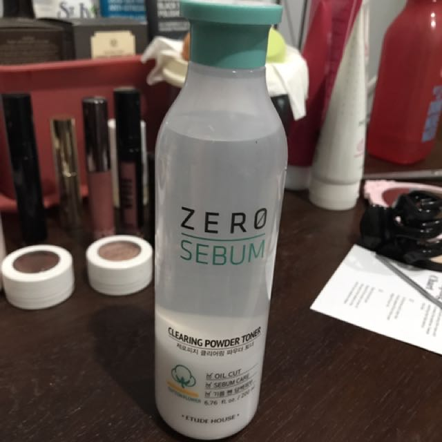 ETUDE HOUSE ZERO SEBUM CLEARING POWDER TONER