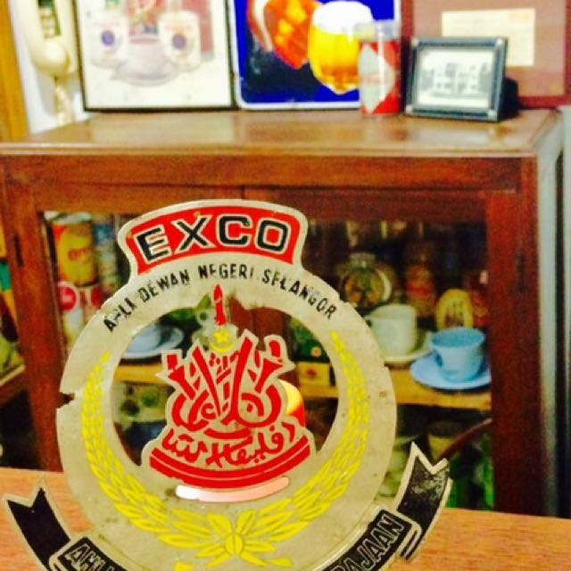 Exco Car Badge