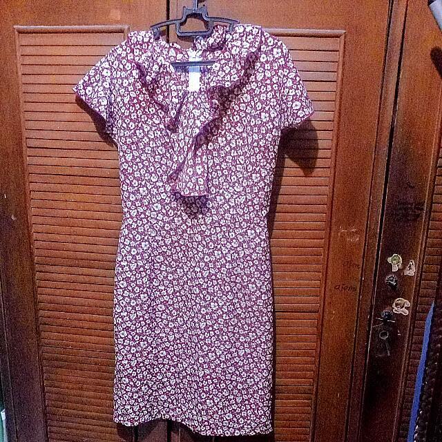 Flower Medium Dress