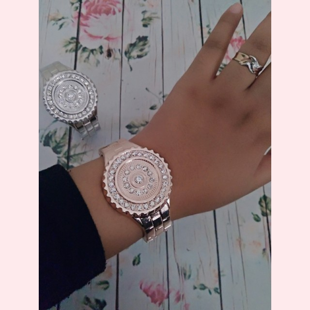 Gelang Gold and Silver