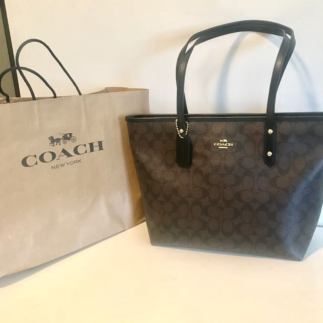 Geniune Coach tote brand new