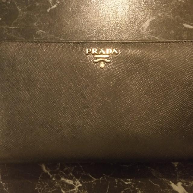 Genuine Prada Saffiano Wallet