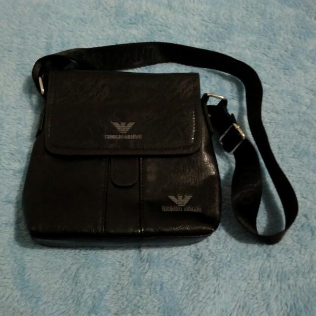 a3bb8708914 Giorgio Armani Sling Bag, Men s Fashion, Bags   Wallets, Wallets on  Carousell
