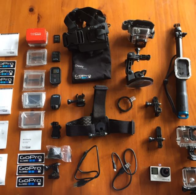 GoPro Hero 4 LIKE NEW and accessories!