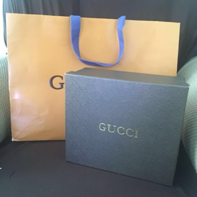 Gucci box for bag