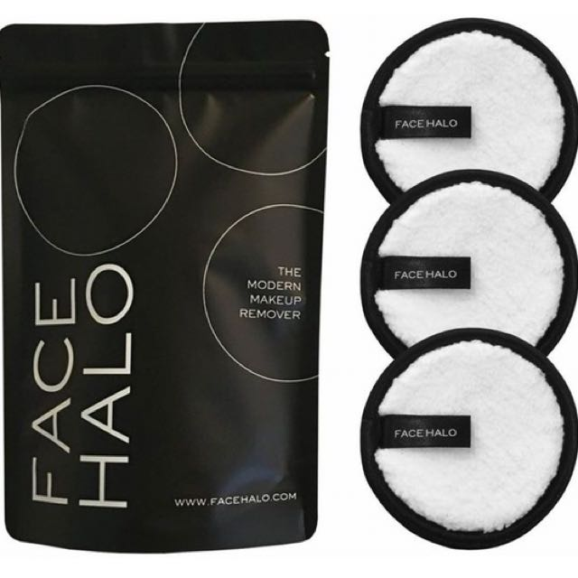 Halo makeup remover