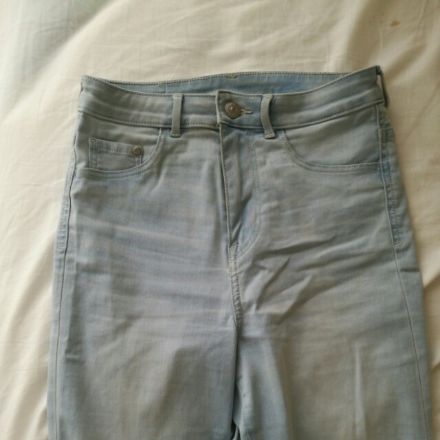 HM High Waist Jeans Leggings