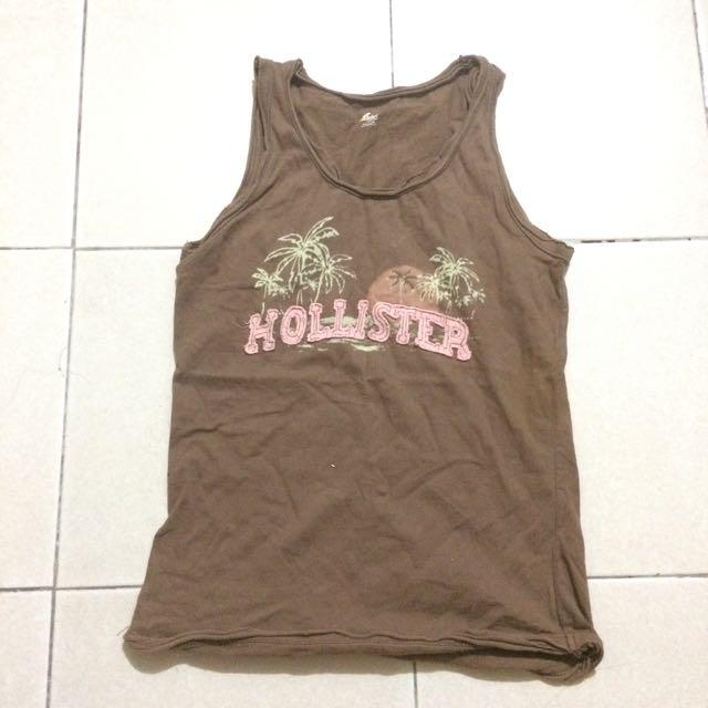 Hollister Brown Top