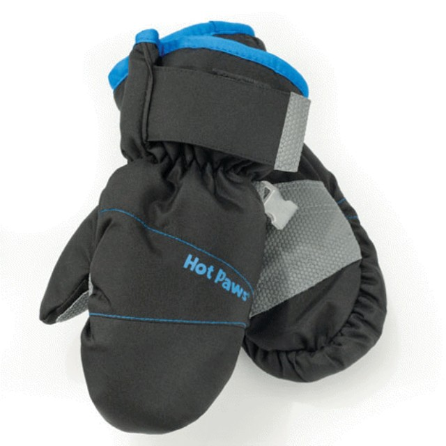 Hot Paws Childrens Mittens – black