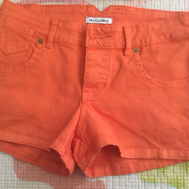 Hotpants colourbox orange