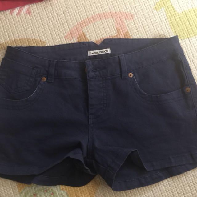 Hotpants jeans blue merk colourbox