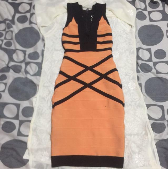 HQ bandage dress (herve insp)
