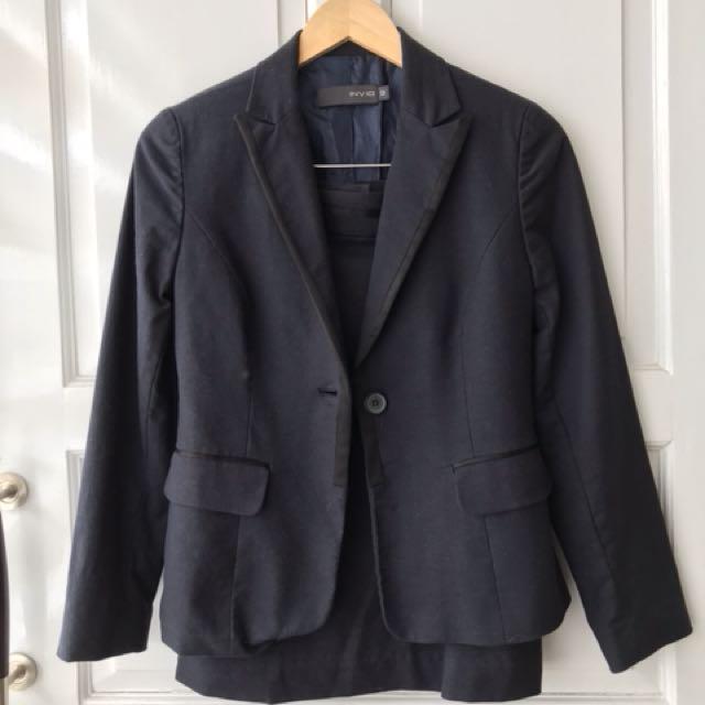 Invio Formal Set (Blazer & Skirt)