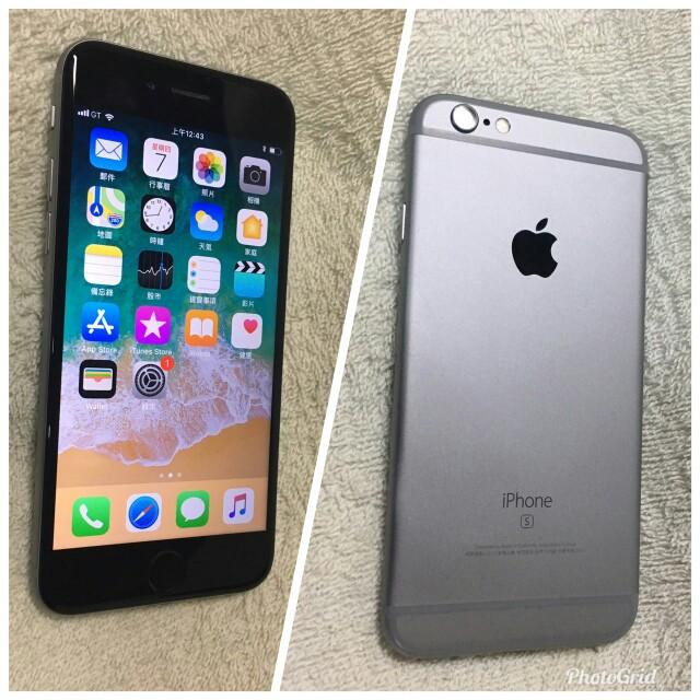 Iphone6s 64G 全機如新 全機正常 、 單手機 、充電線及充電頭,靜音切換,少用,最近發現無法切換!建議面交!售出不退!