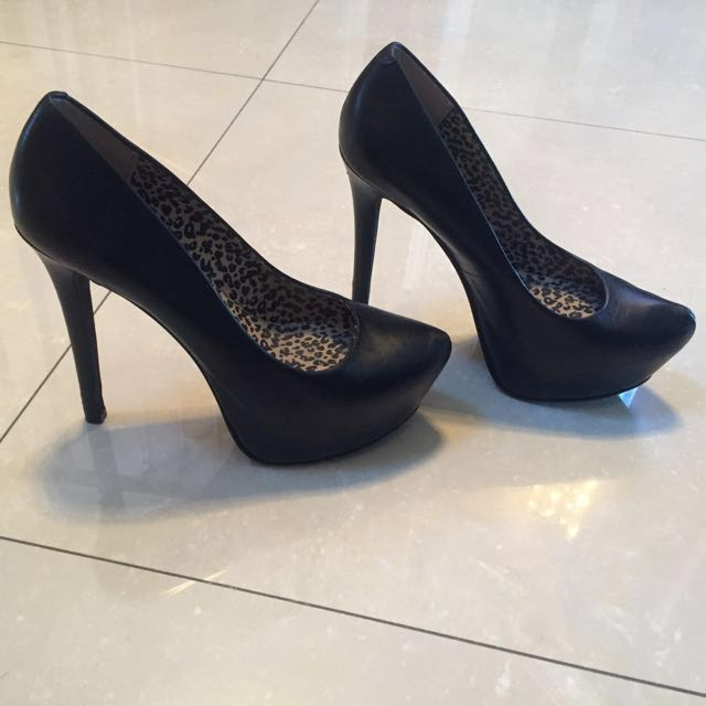 Jessica Simpson Leather Heels.