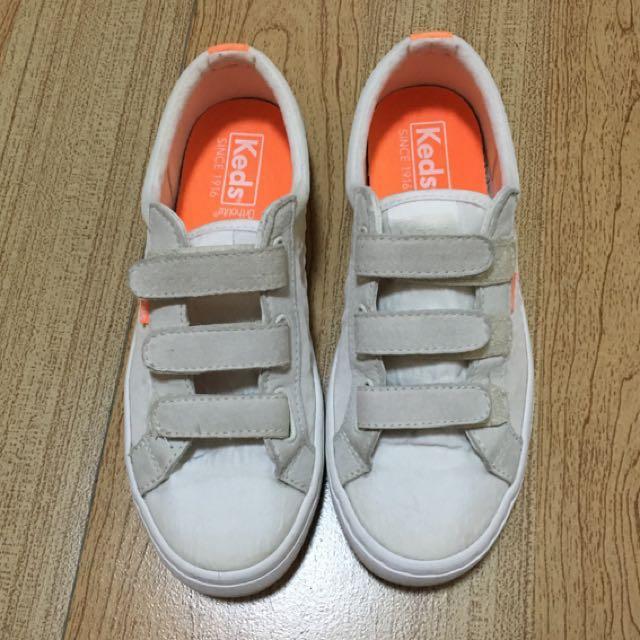Keds Weatherproof Ortholite White Sneakers