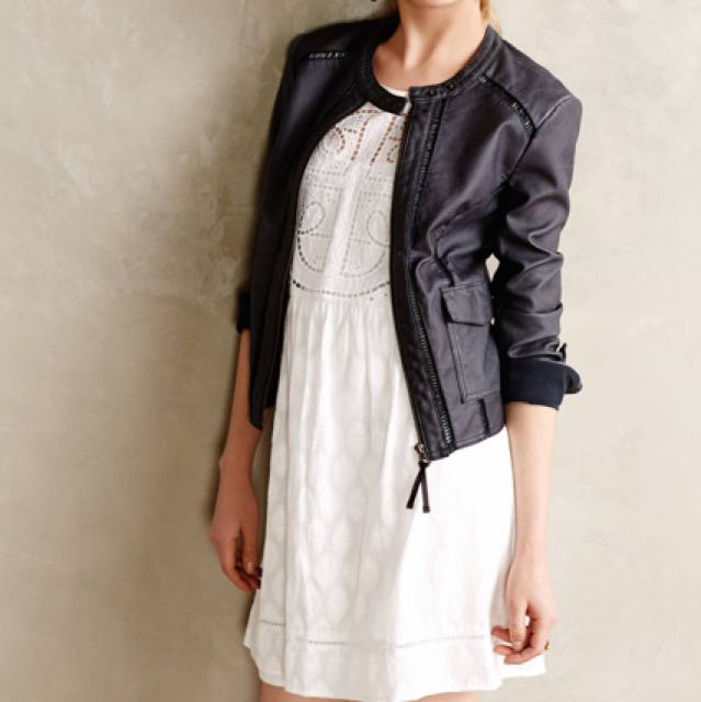 Like new Anthro Hei Hei Leather Jacket