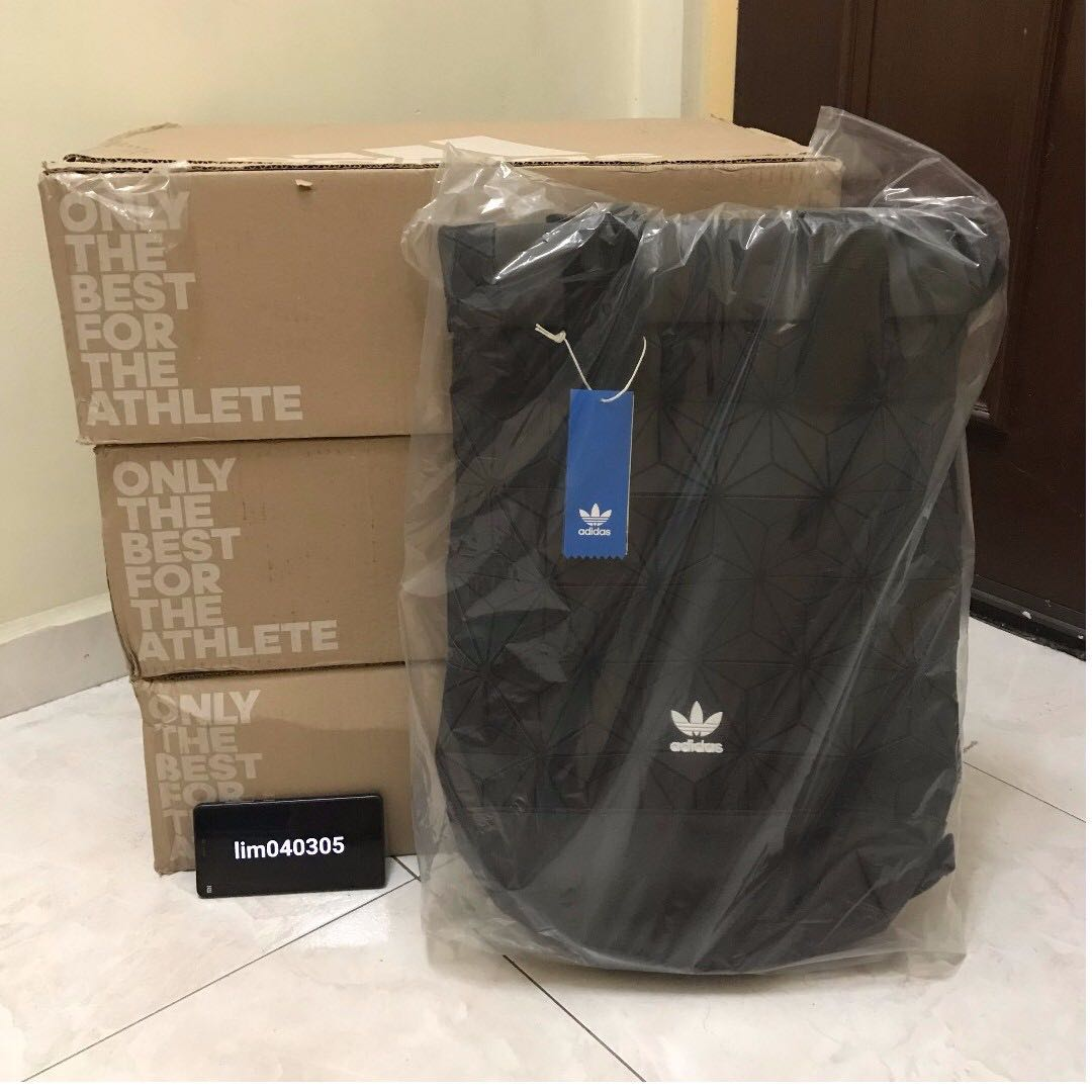 ??[LIMITED READY STOCK]?? ADIDAS® 3D ROLL TOP BACKPACK