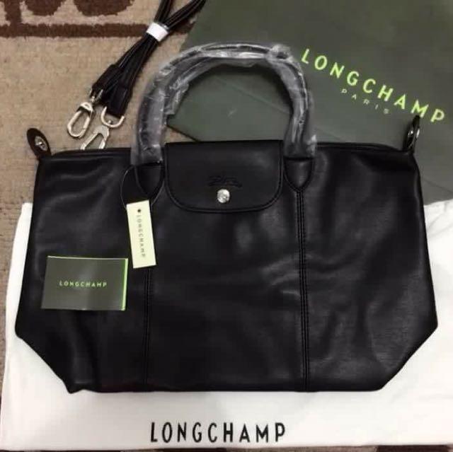 Longchamp la cuir