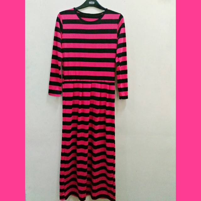 Longdress Fanta Stripe