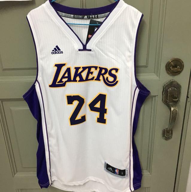 Los Angeles Lakers NBA Kobe Bryant Adidas Basketball Jersey