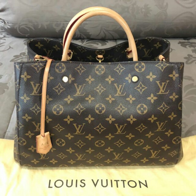 Louis Vuitton Montaigne GM preloved