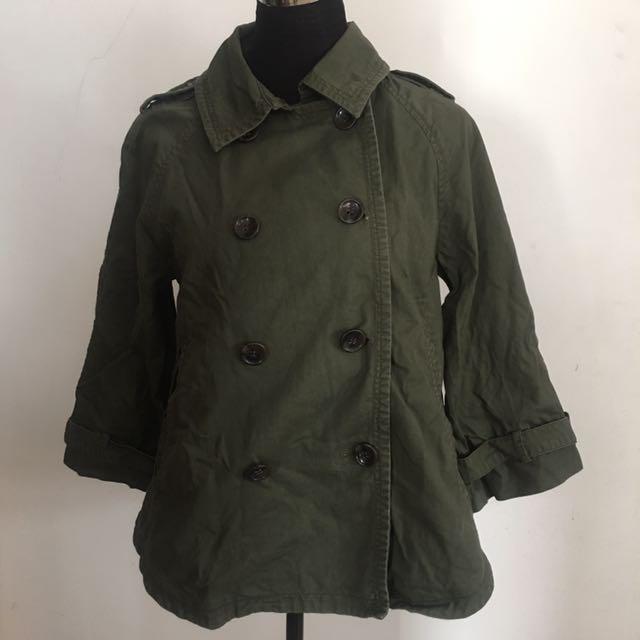 Lovedrose parka jacket coverup blazer