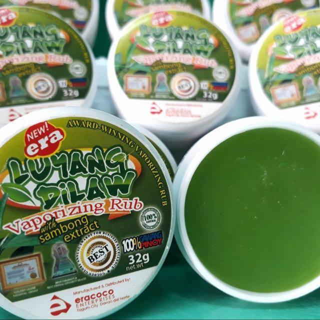Luyang Dilaw Vapor Rub