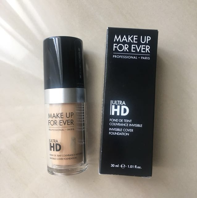Make Up For Ever Ultra HD Foundation shade 117 / Y225