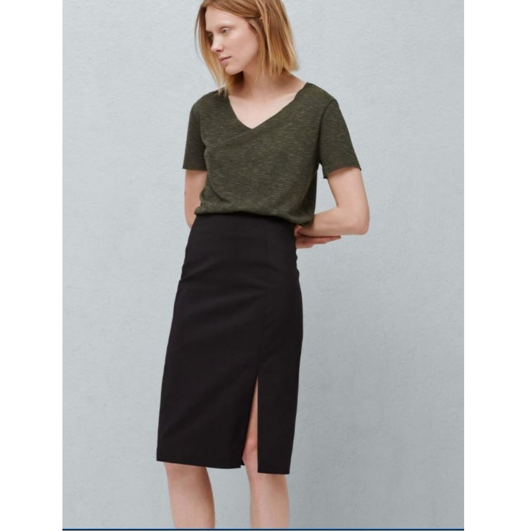 Mango Office Skirt