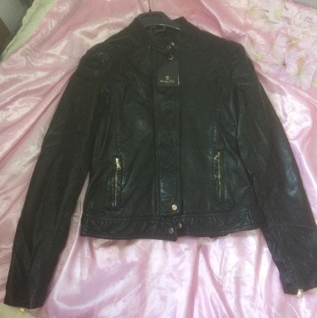 Massimo Dutti Woman Leather Jacket