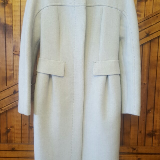Max & Co baby blue wool coat