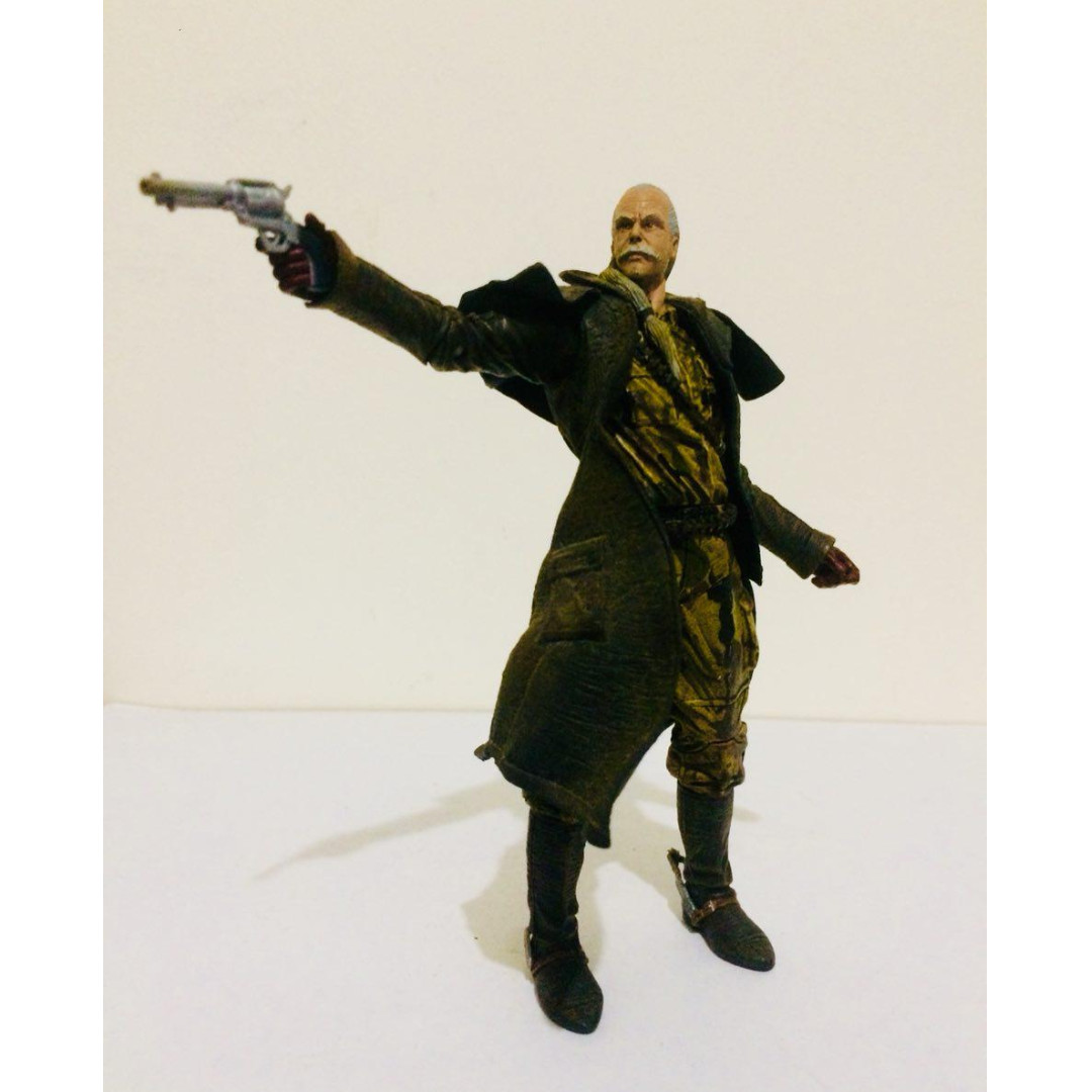 "MCFARLANE 7""INCH METAL GEAR SOLIDS 2 SONs OF LIBERTY - REVOLVER OCELOT"