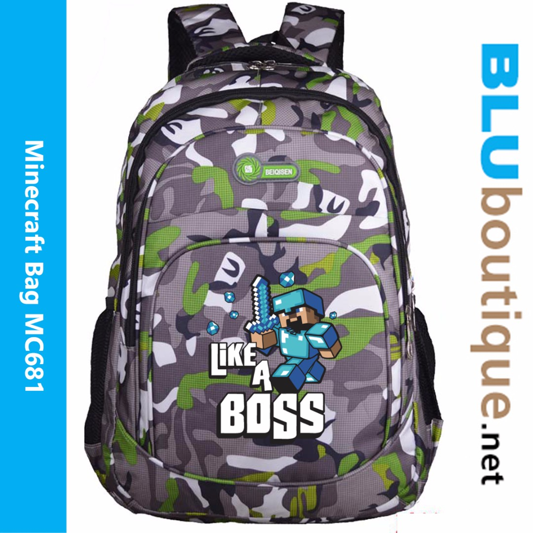 Minecraft bag MC681 ***Ready Stock!