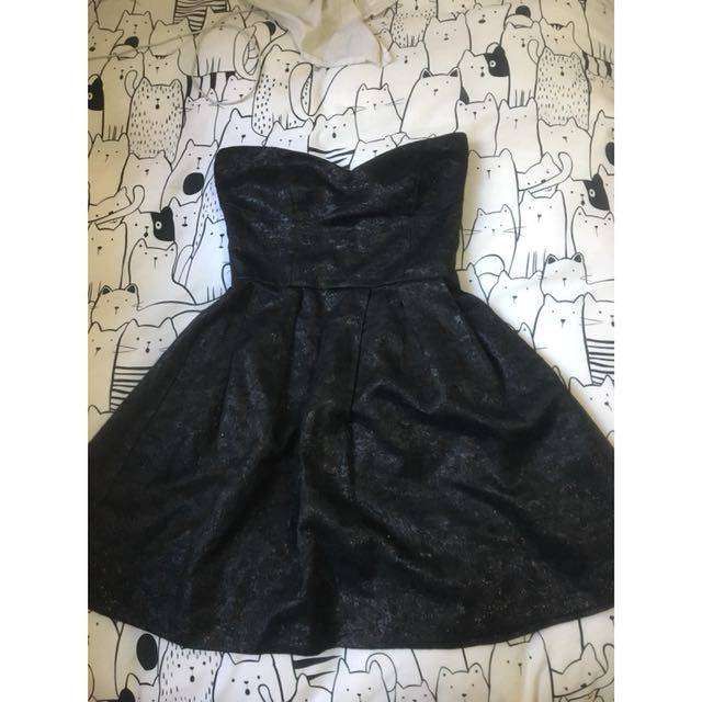 Mink Pink strapless cocktail style dress
