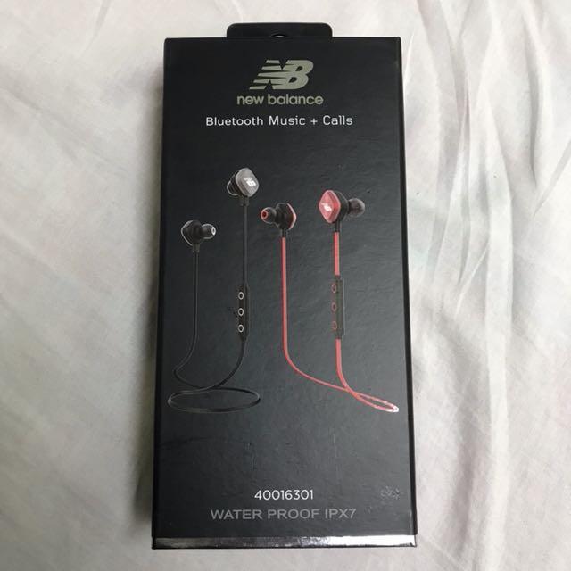 new balance藍芽運動耳機
