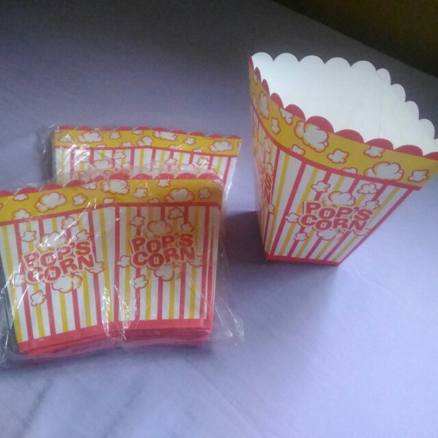 Party needs (Popcorn container)