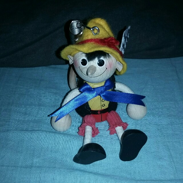 Pinnochio wooden doll