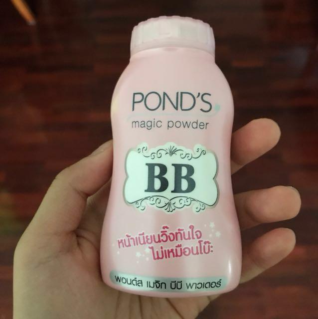 POND'S bb magic powder/natural mattifying face powder