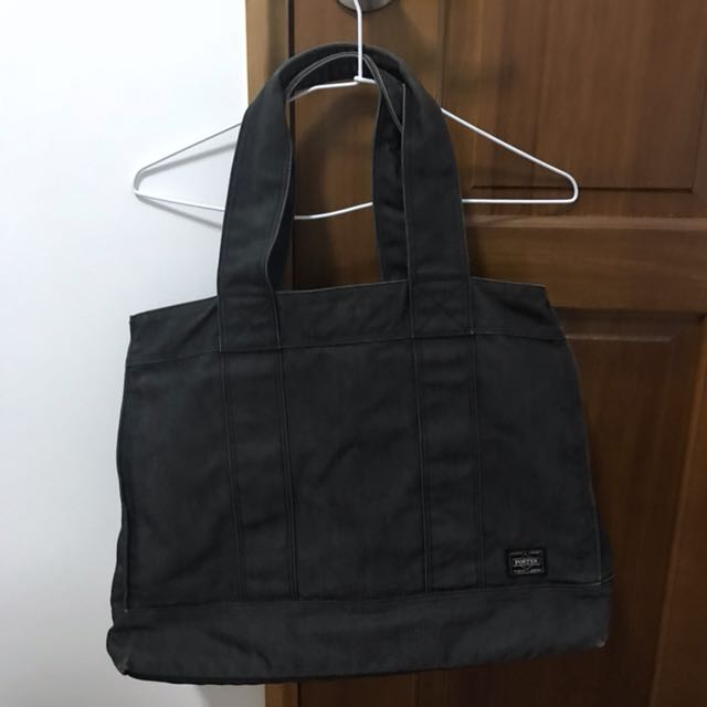 Porter 黑灰手提包