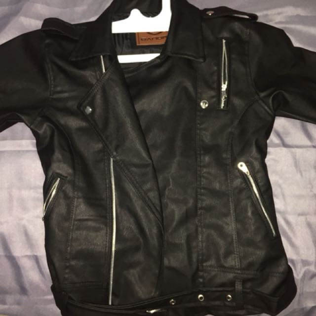 Premium Faux Leather Jacket Ladies