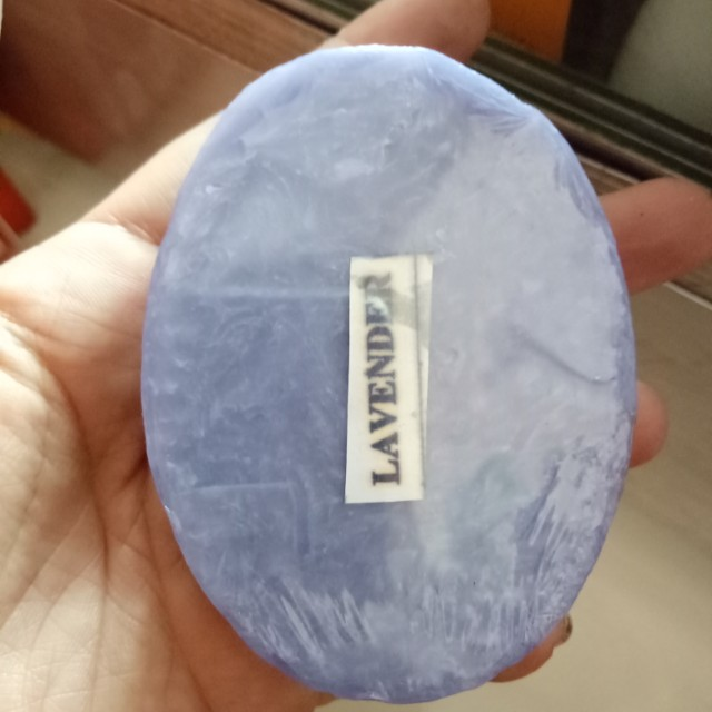 Remolded branded oval soap
