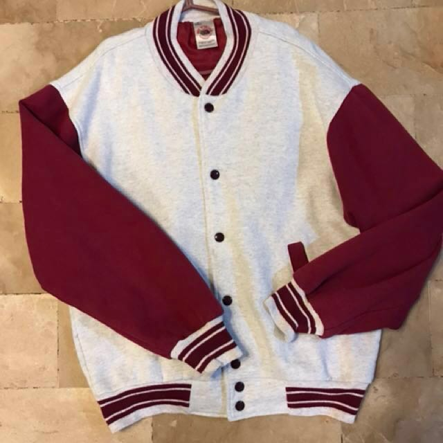 REPRICED from P895! Fruit of the Loom VARSITY jacket