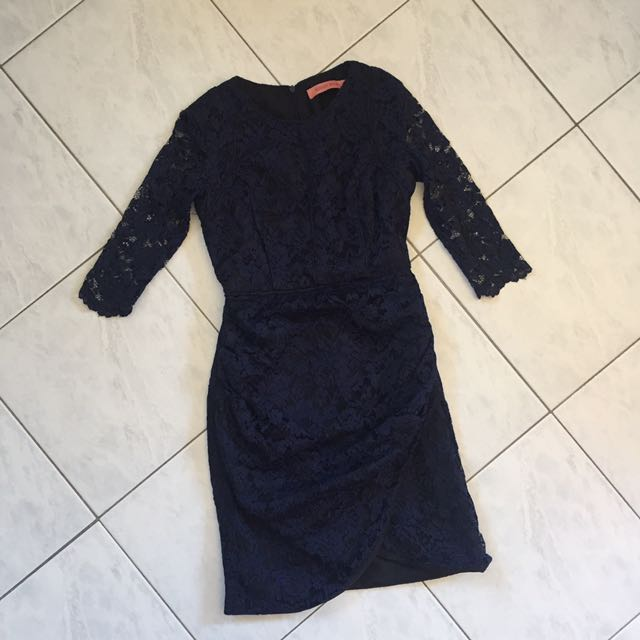 Rodeo Show Blue Lace Dress