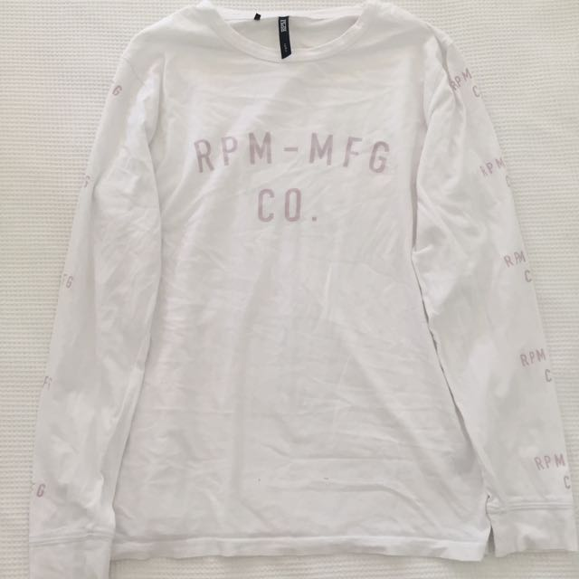 RPM white long sleeve top 🤗