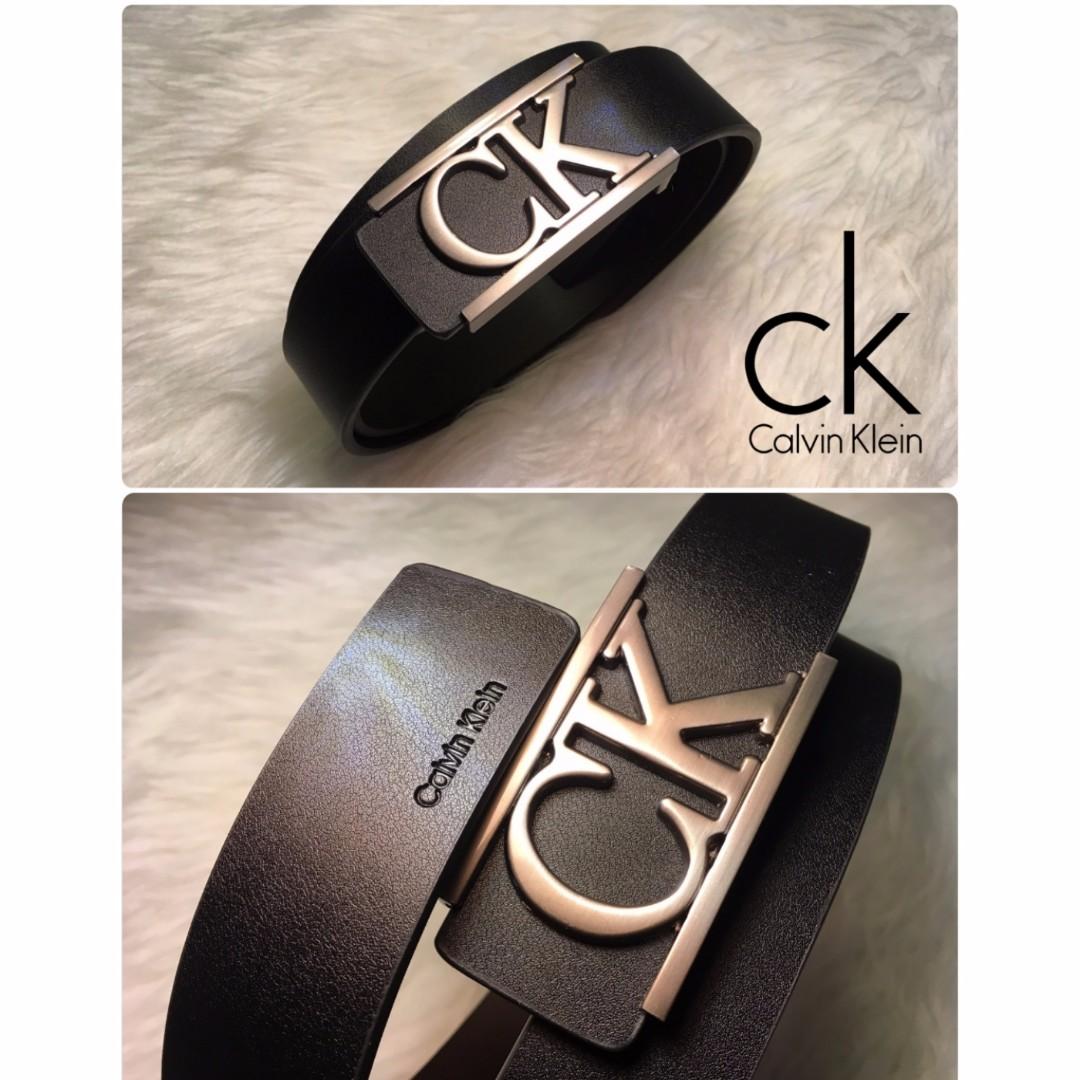 Sabuk Gesper Ikat Pinggang Kulit Import Branded Cowo Cowok Pria Calvin Klein Murah Mens Fashion Accessories Ties Formals On Carousell