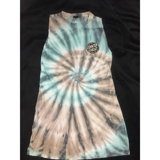 Santa Cruz tie dye dress