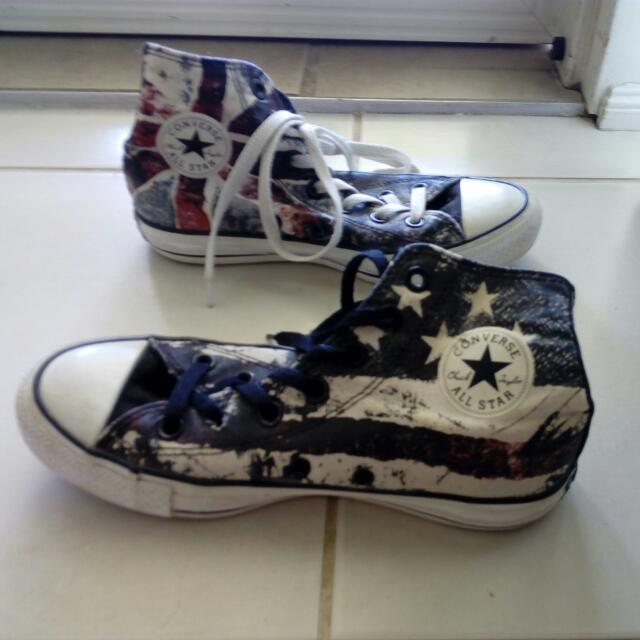 Size 4 Converse USA Vs UK