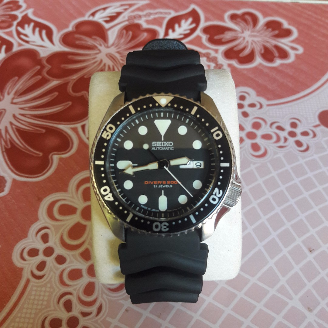 Seiko Divers Automatic Skx007 Mens Fashion Watches On Carousell Prospex Sbdc029j Shogun Titanium
