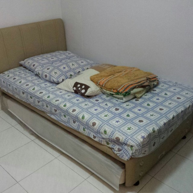the best attitude fdb98 053f9 Slumberland Super Single Bed + Pull Out Single Bed ...